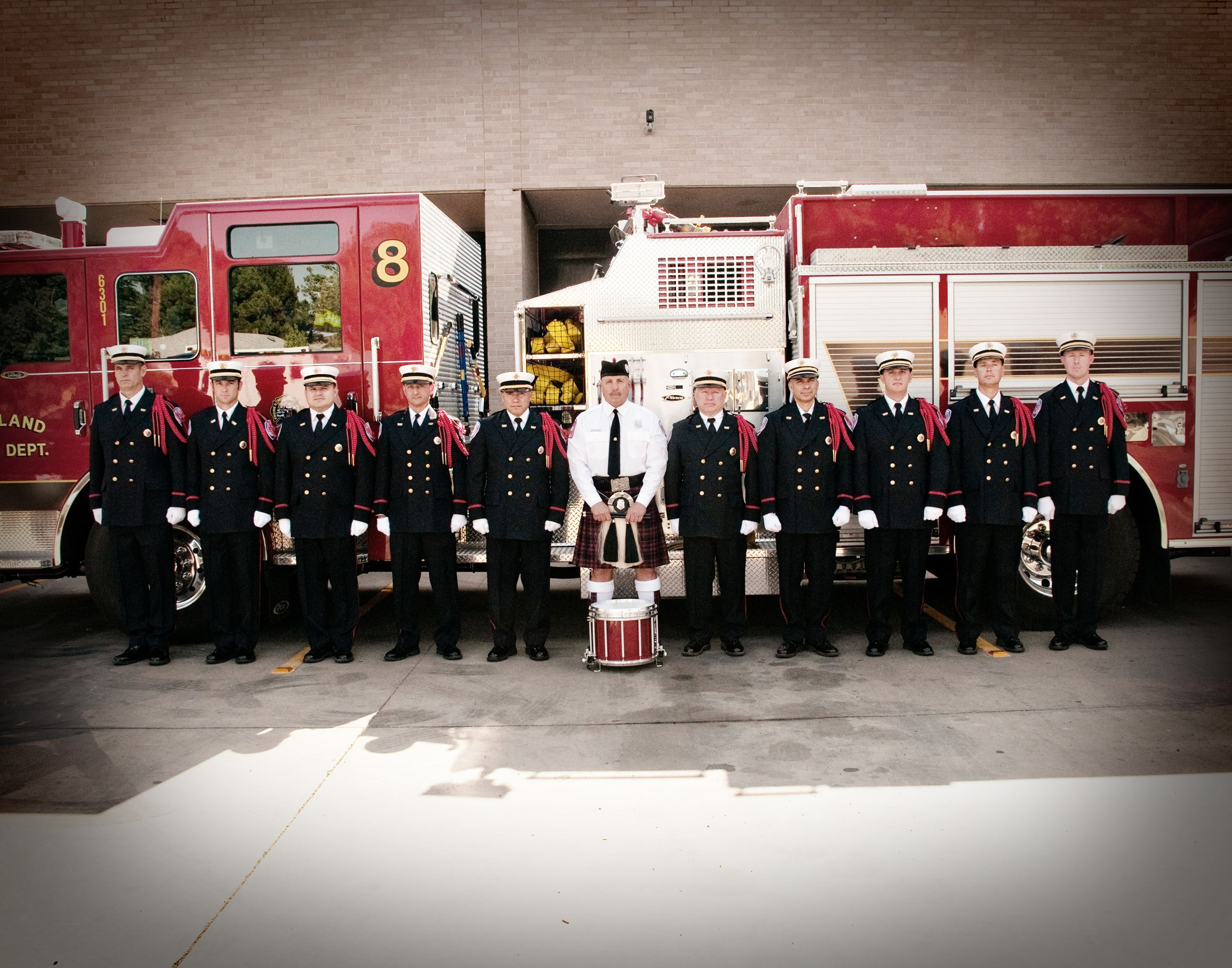 MFD honor guard